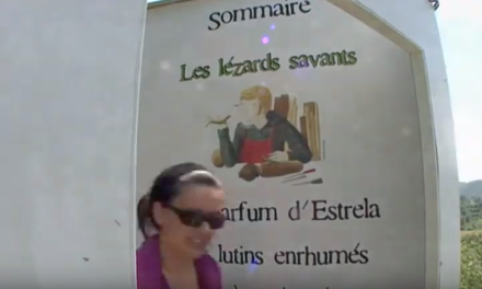 SUR LE SENTIER DES LEZARDS SAVANTS